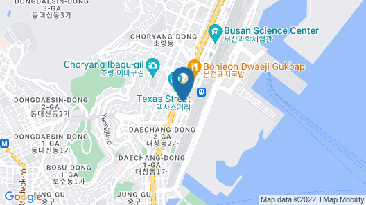 One Way Guesthouse Busan - Hostel Map