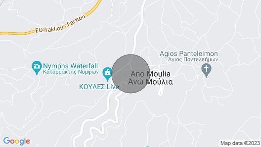 Villa Ninirakis With Awesome Views! Map