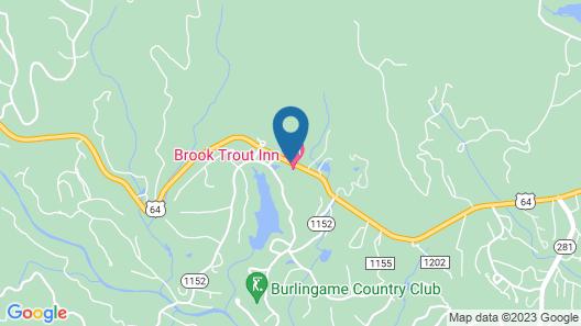 Brook Trout Inn Map