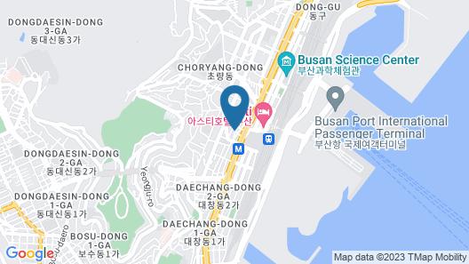 DINO Hotel Busan Station Map