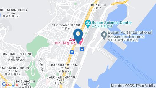 Familie guest house Busan station - Hostel Map