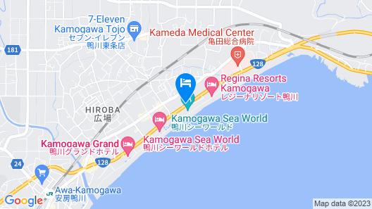 Kamogawa Sea World Hotel Map