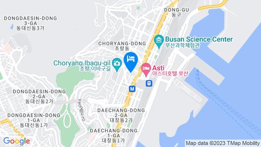 Busan Station Dante House Map
