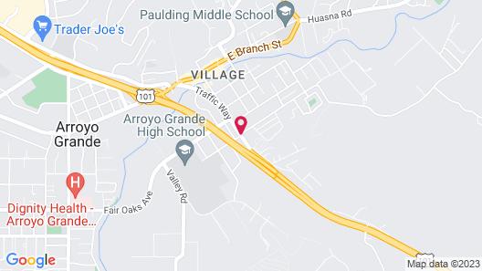 Arroyo Village Inn Map