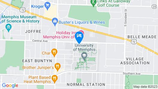 Fogelman Executive Center Map