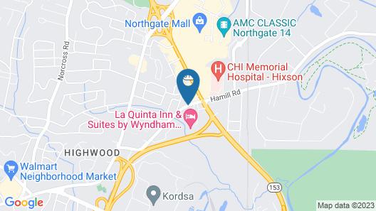 Hampton Inn Chattanooga/Hixson Map