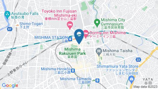 Hotel Massimo Mishima Map