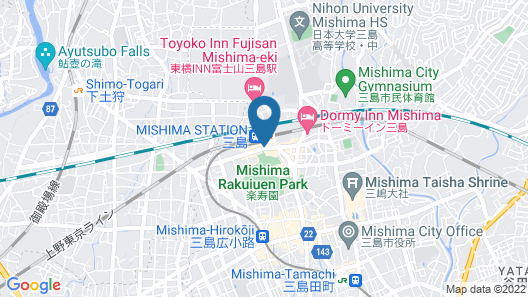Fujisan Mishima Tokyu Hotel Map