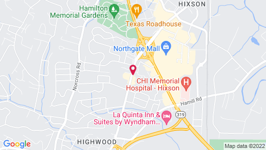 Holiday Inn Express Hotel & Suites Chattanooga-Hixson, an IHG Hotel Map