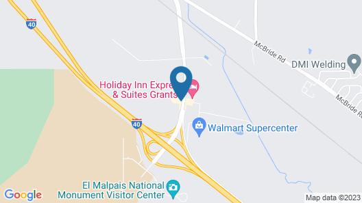 Best Western Grants Inn Map