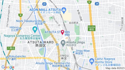 Hotel Shinsuien Map