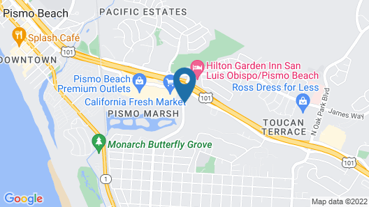 Motel 6 Pismo Beach, CA Map