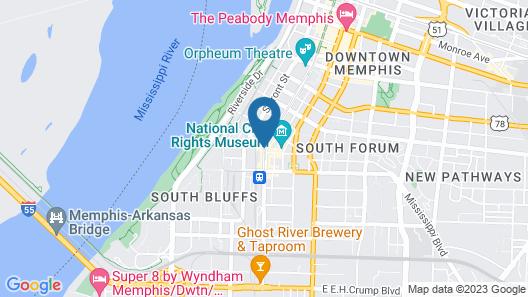 ARRIVE Memphis Map