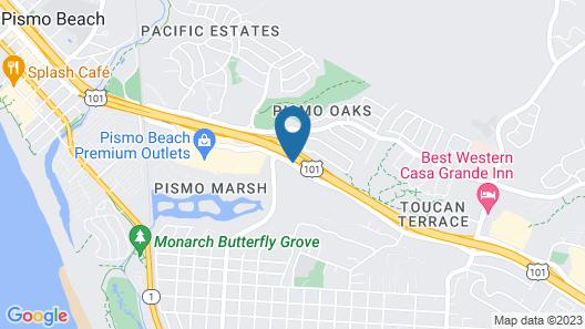 Oxford Suites Pismo Beach Map