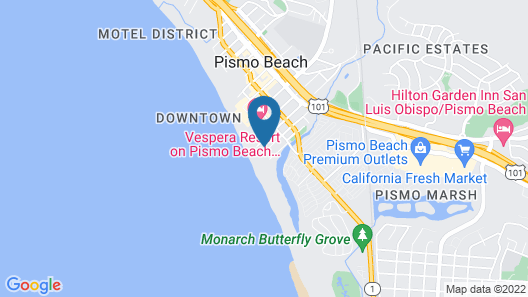 SeaVenture Beach Hotel Map