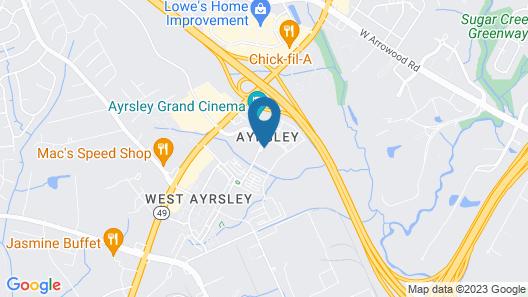 Tru by Hilton Charlotte Ayrsley Map