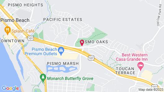 Hilton Garden Inn San Luis Obispo-Pismo Beach Map