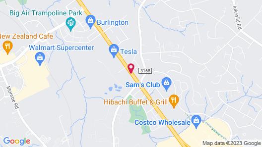 Holiday Inn Express & Suites Charlotte Southeast - Matthews Map