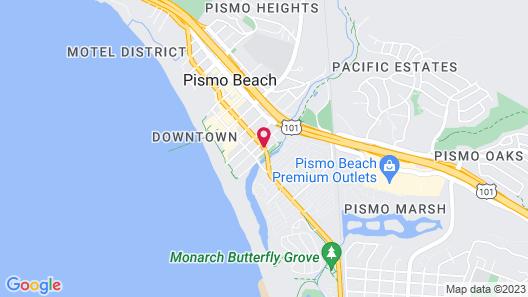 Blue Seal Inn Map