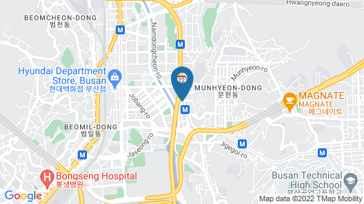 Jeongseong Hotel Map