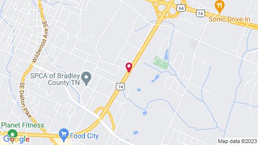 Applegate Inn Map
