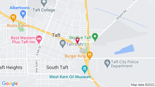 Topper Motel Map