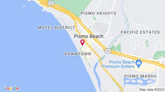 Beach House Inn & Suites Map