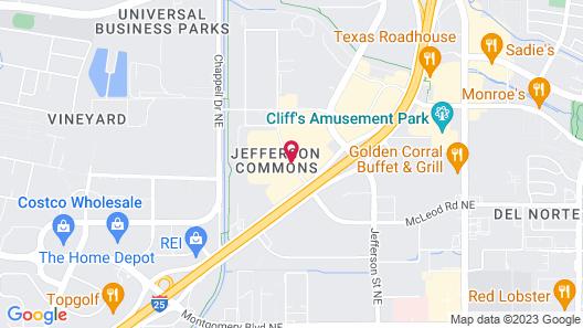TownePlace Suites Albuquerque North Map