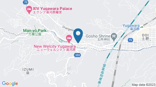 Yunosato Sugina Map