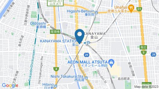 ANA Crowne Plaza Hotel Grand Court Nagoya, an IHG Hotel Map