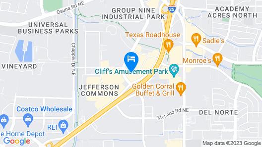 Drury Inn & Suites Albuquerque North Map