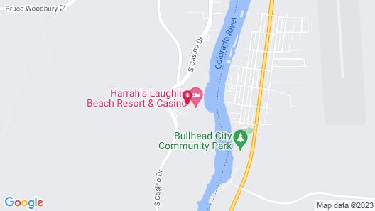 Harrah's Laughlin Hotel & Casino Map