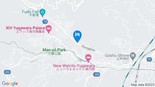 Yugawara Spa Ryokan Ashikari Map