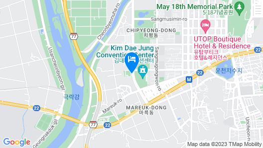 Holiday Inn Gwangju, an IHG Hotel Map