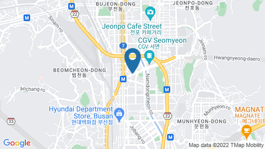 Kimchee Busan Downtown Guesthouse - Hostel Map
