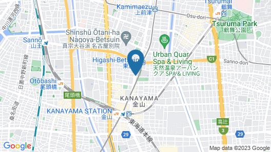 Hotel Koshuen Map