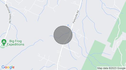 Wrens Nest Bungalow- Benton TN Map