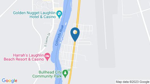Motel 6 Bullhead City, AZ Map
