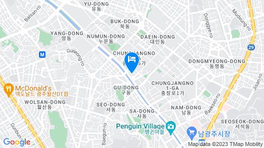 Hotel Duu Map