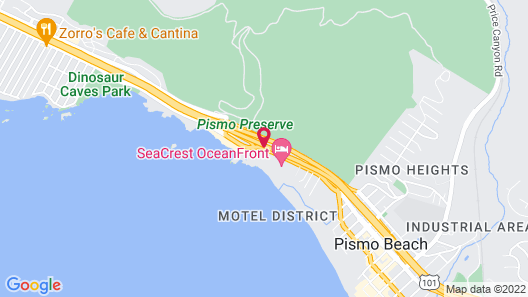 Pismo Lighthouse Suites Map