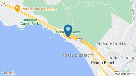 Shore Cliff Hotel Map