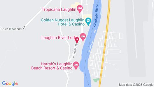 Laughlin River Lodge Map