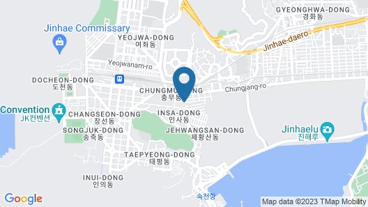 Jinhae Pasta Hotel Map