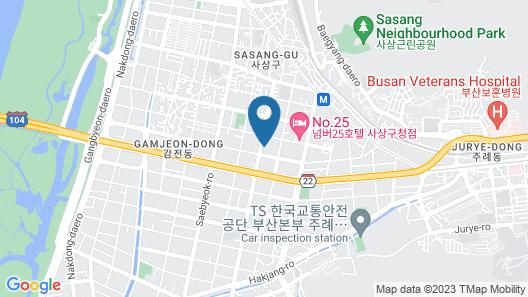 Hotel Prima Map