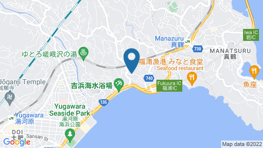 Pension Hana Map