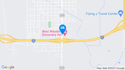 Best Western Discovery Inn Map
