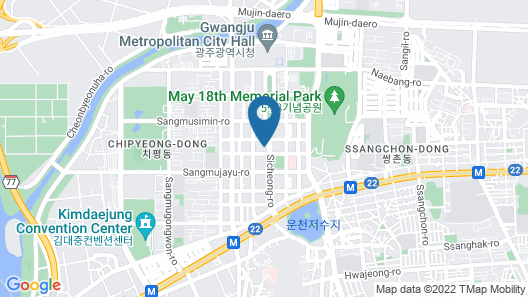 UTOP Boutique Hotel & Residence Map