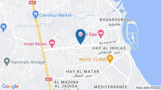 Hotel Molen Nador Map