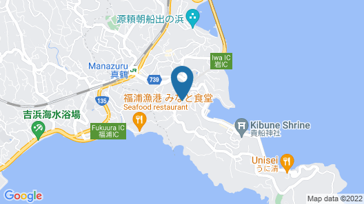OYO Ryokan Miyoshi Odawara Manazuru Map
