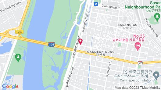 Louis J Hotel Map